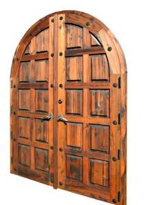 Arched Double Doors Inspired By Arundel Castle - 4458RP