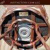 Navajo Wrought Iron Upholstered Bar Stools - BSS88