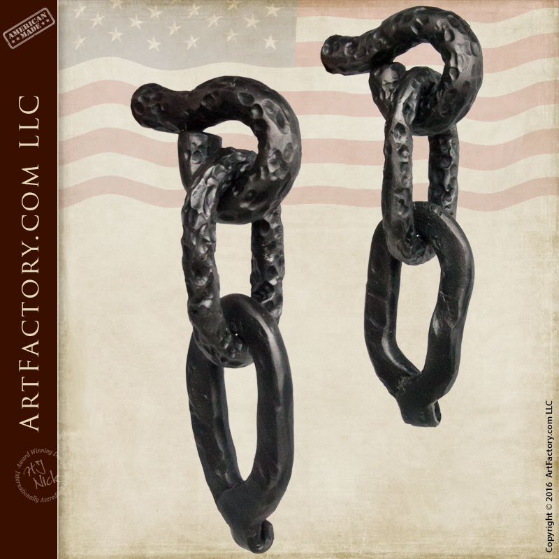 Hand Forged Antique Hardware, Castle Chain - HH1929A