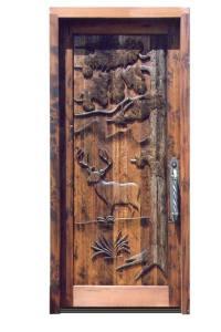 Door - Carved Wilderness Door - 3225HC