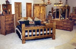 Mission Style Beds - Solid Wood - CBB619