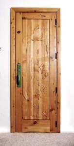 Hand Carved Sonoran Desert / Saguaro Cactus Door Pull - 6010HC