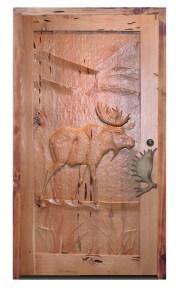Moose Door -  Moose Mountain 18th Cen Canada - 7015HC