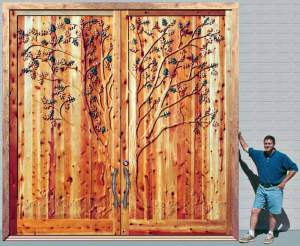 Big Doors - Chateau de La Rochefoucauld 12th Cen Design - CD1335