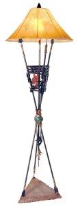 Native American Theme Floor Lamp - LF712