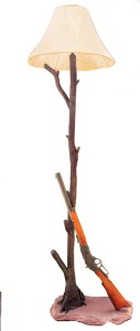 Floor Lamp - Winchester Lever Action Rifle Old West - LF738A