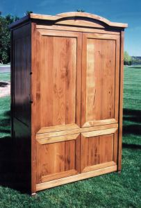 Entertainment Center Armoire - From Historical Record  - SPA414