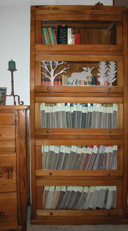 Custom Bookshelves - Designer Bookcases All Styles - BCC1111