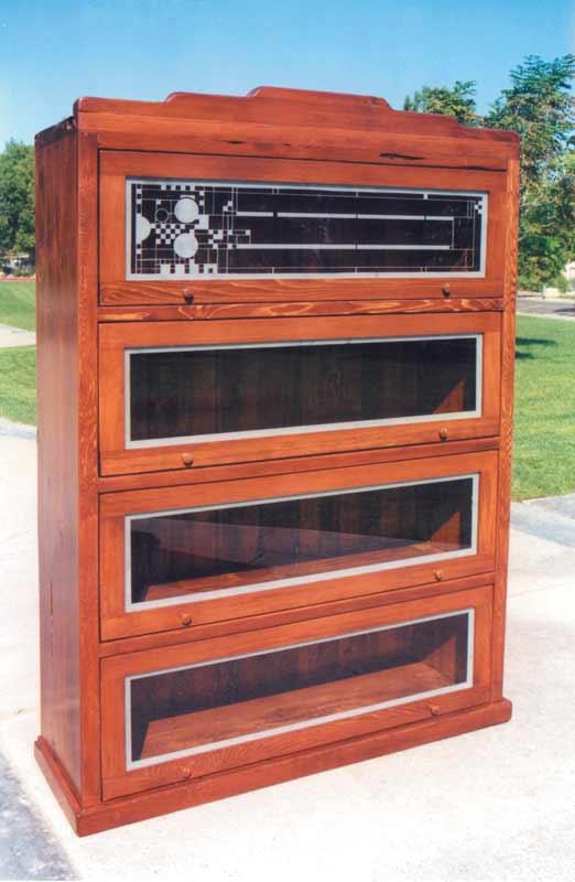 Custom Bookshelves - Barons Bookcase Wood  - CTBS254