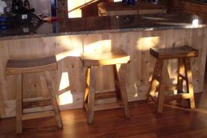 Bar Stools- Saddle Bar Stools - CBBS784