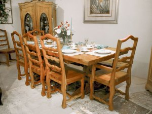 Dining Table - Trestle Base Dining Table - CFT303