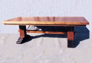 Dining Table - Trestle Dining Table - CST825