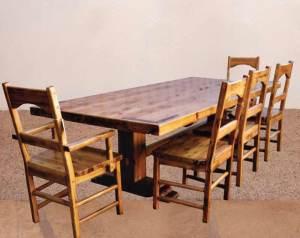 Craftsman Dining Table In Original Craft - DRT789