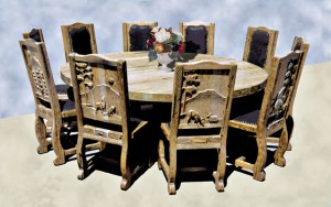 Dining Table - Round Dining Table - MLT501