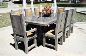 Dining Table - Castle Style Dining Table - SPT409