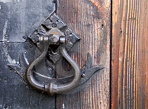 Old World Style Door Pull - HH203
