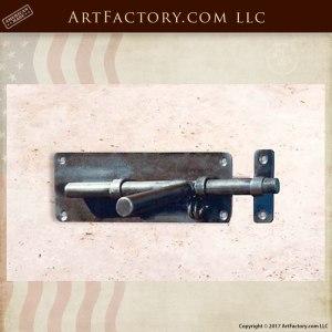 Wrought Iron Custom Slide Bolt Latch - HH179