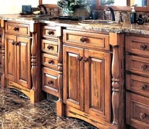 Custom Cabinets - Handmade In America Since 1913-  BATH121