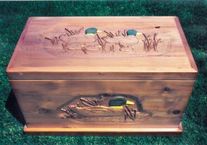 Chest - Designed For The Avid Duck Watcher - CTC239