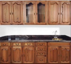 Hand Carved Kitchen Cabinet Wet Bar KIT964