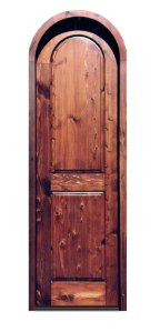 Arched Door - Chateau de Chateauneuf 15th Cen Style - 8028AT