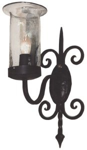 Hand Forged Wall Sconce - Copertino Castle Style - LS027