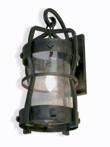 Iron Lanterns - Wall Sconce Wrought Iron - LS147