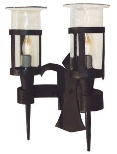 Medieval Sconce Hand Forged - Fougres Style - LS040