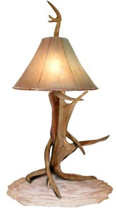 Table Lamps - North American Whitetail Deer Antler - LT627