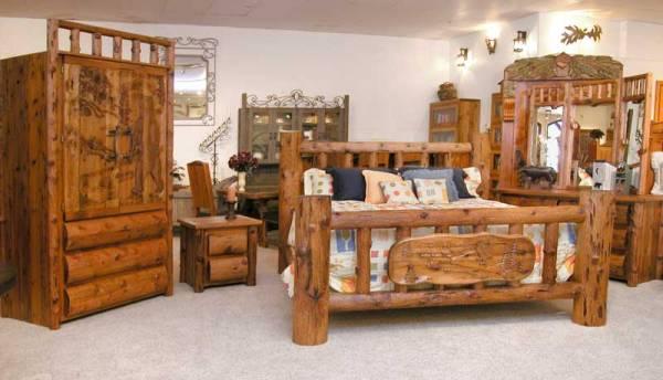 Beds | Log Home Beds | Rustic Lodge Beds | Log Beds