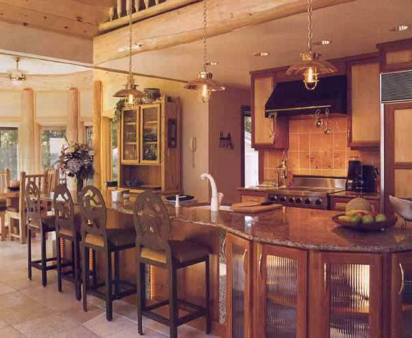 Custom Kitchen - Designed From The Historical Record - CH3003