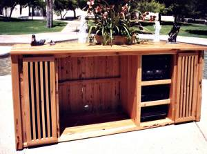 Entertainment Center - Craftsman In America - SWEC171