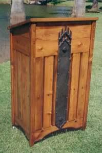 Podium - Custom Wood Lectern or Hostess Station - HP469