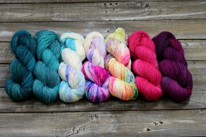 Take It All Shawl – Colour choice