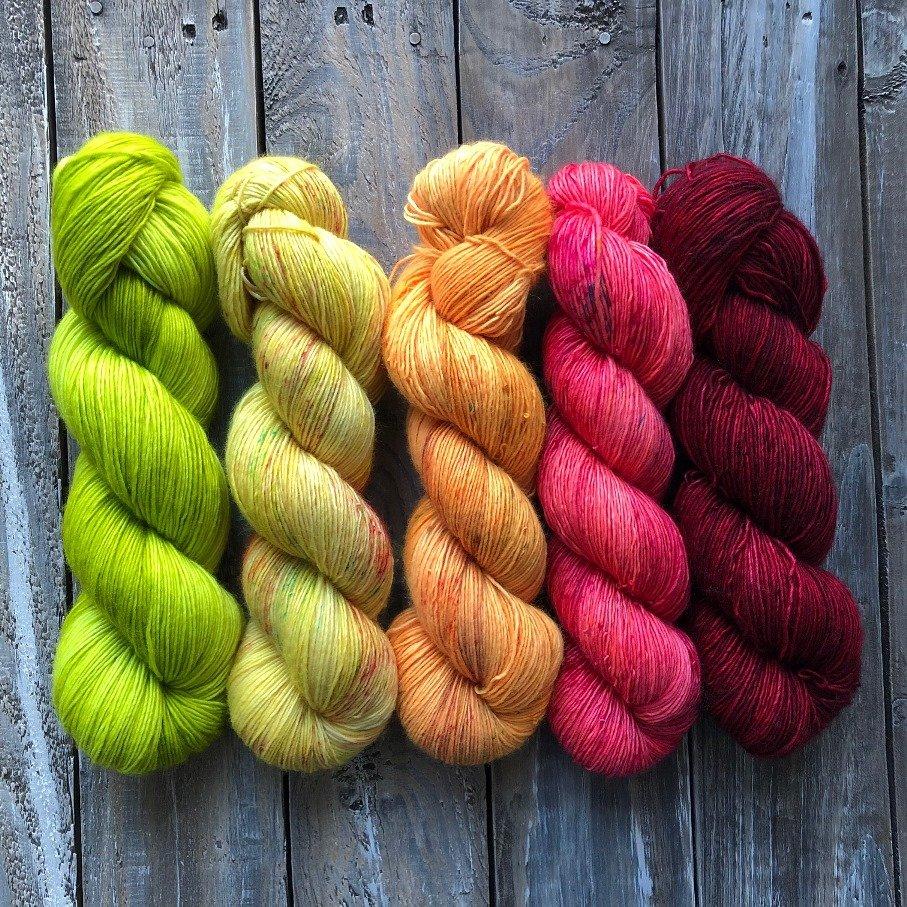 Fading Yarn Set – Lolipop