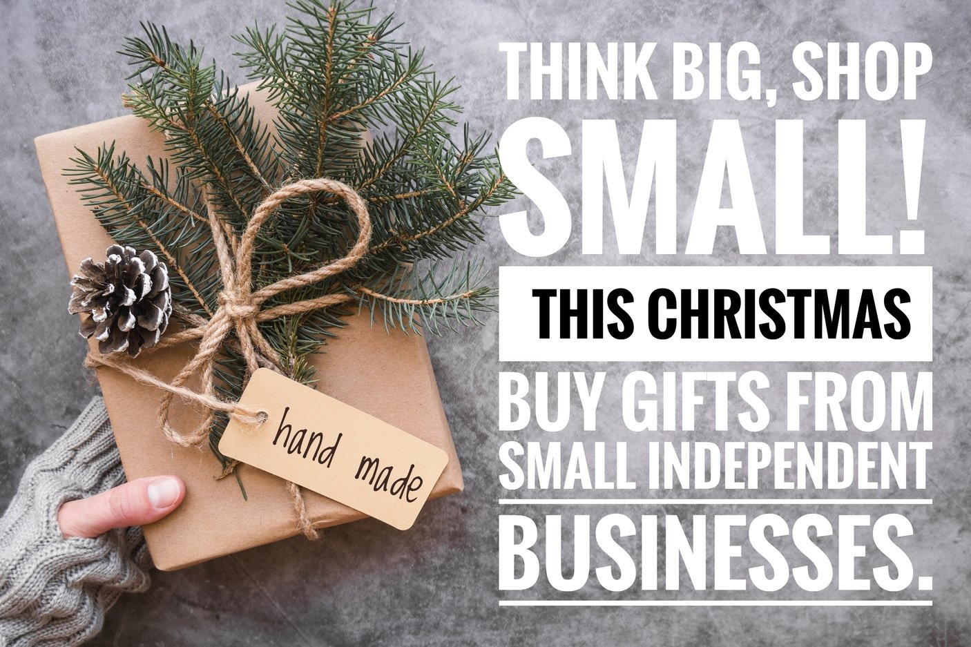 Shop At Small Independent Businesses This Holiday Season!