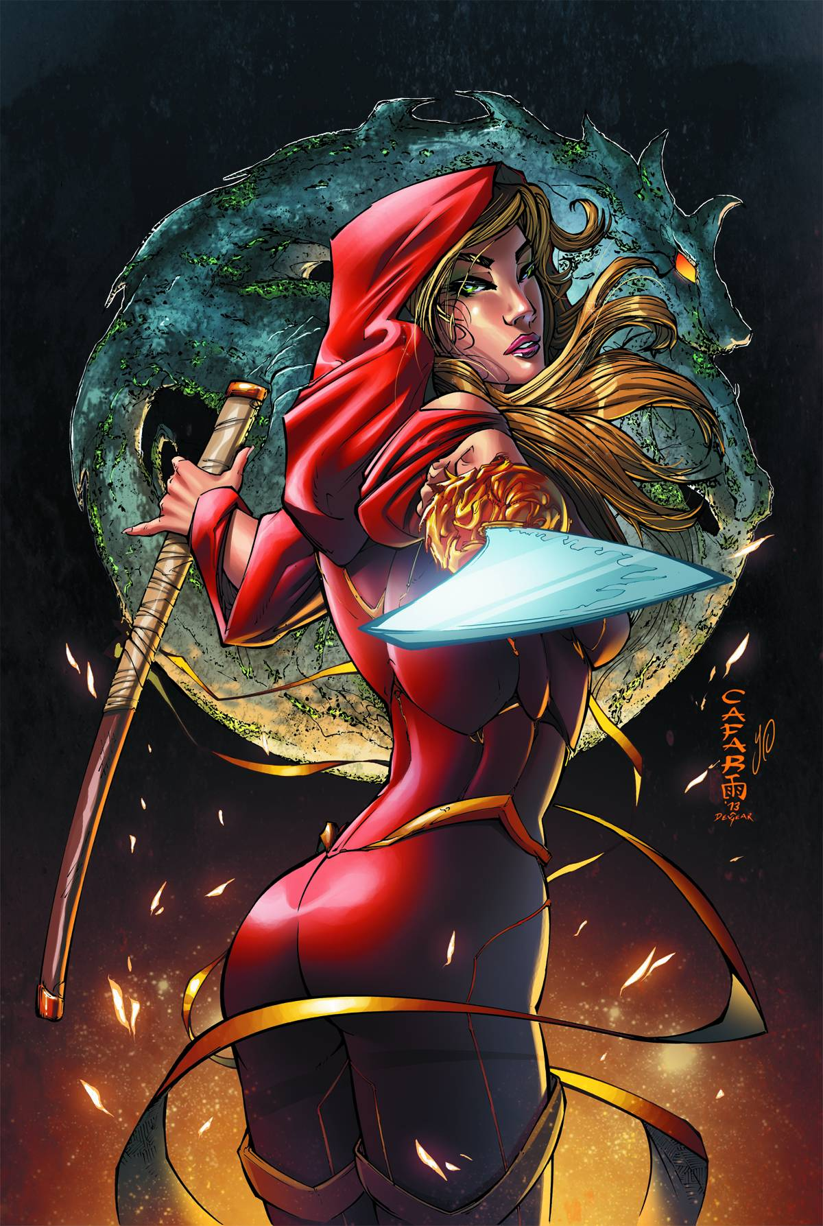 Grimm Fairy Tales Art