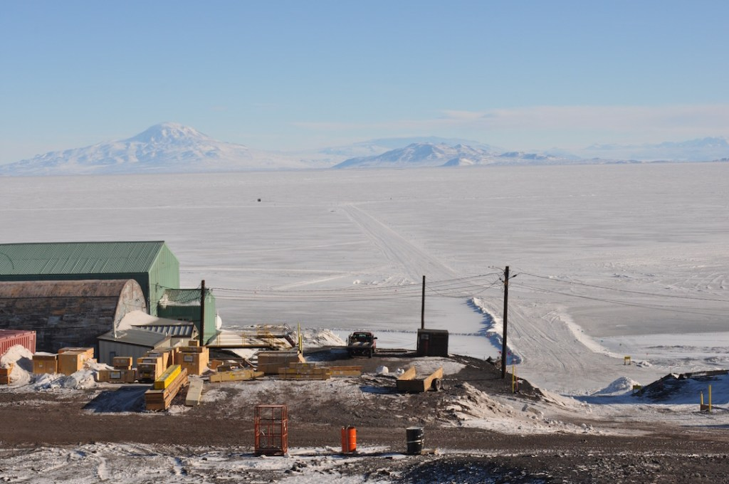 Erebus Bay - Antarctica