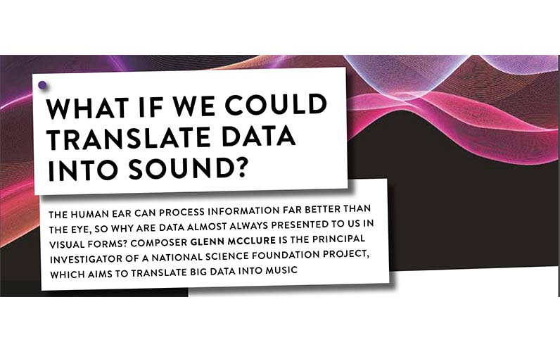 What if we could translate data into sound?