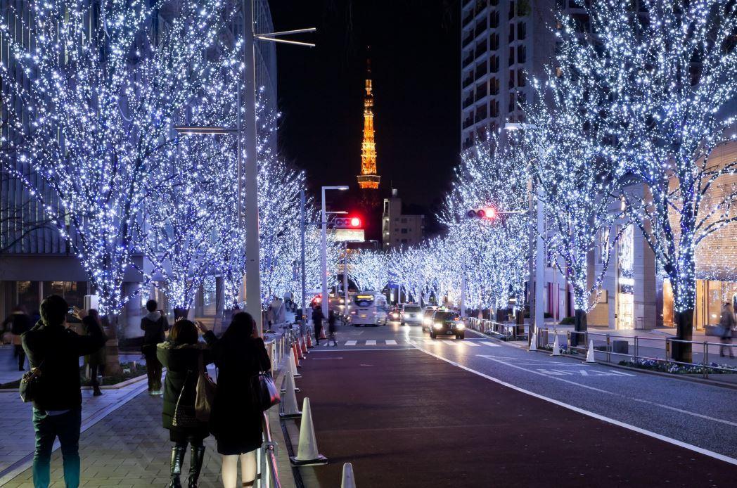 Meriahnya Hari Natal Di Jepang