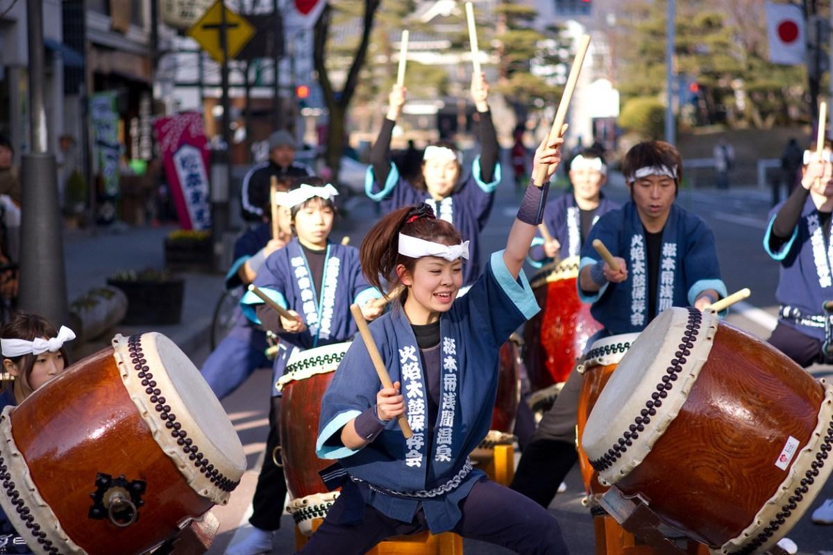 Mengenal Taiko Sebuah Hobi Musik Tradisional Jepang