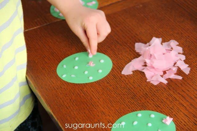 Kerajinan Mudah Membuat Pohon Sakura Untuk Anak