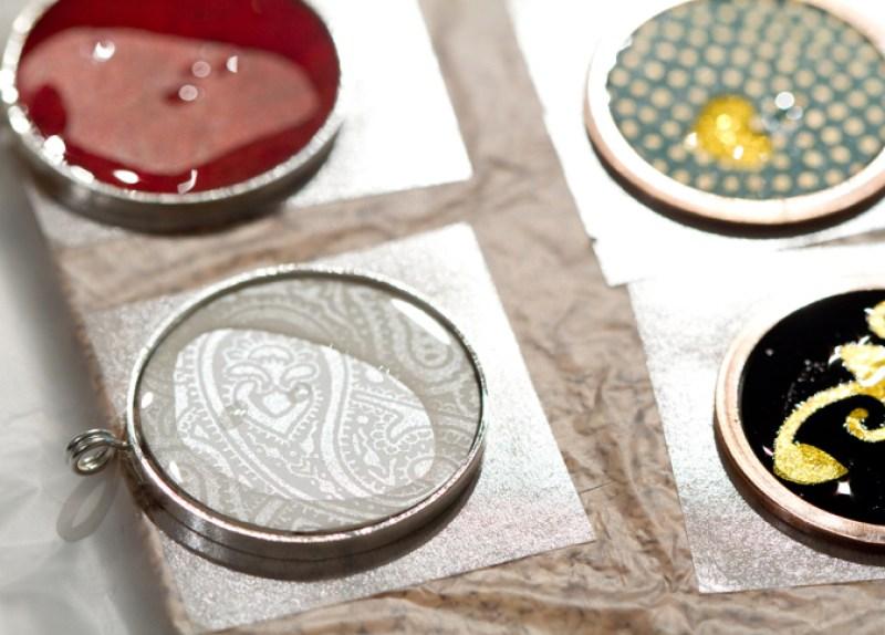 Membuat Kalung Indah Dengan Kertas Washi