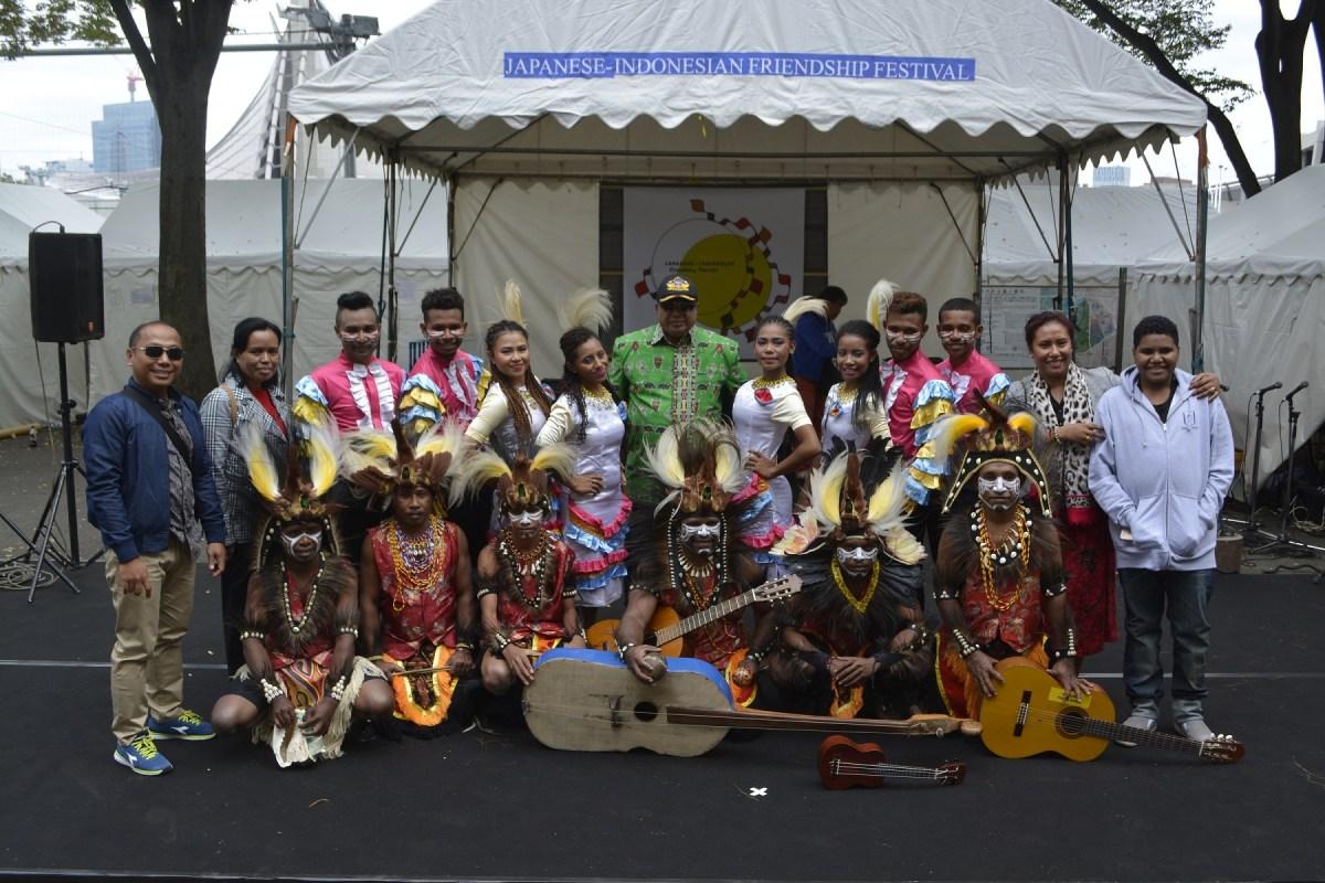 Keharmonisan 2 Negara Dalam Japanese Indonesian Friendship Festival