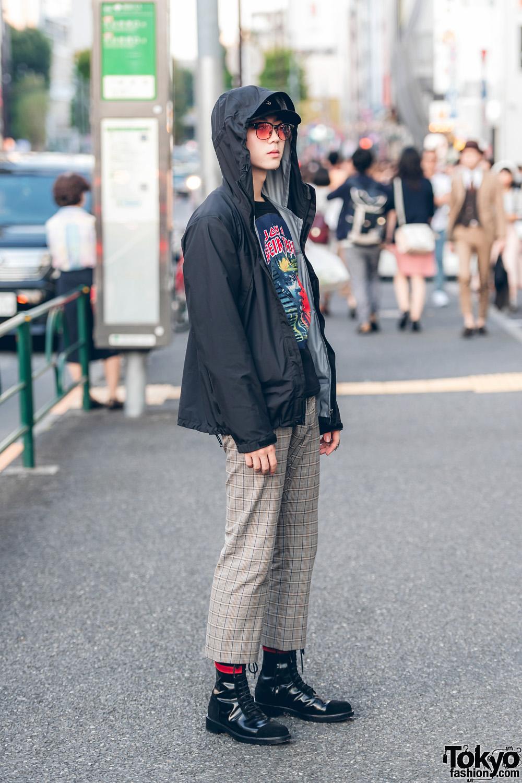 Ryosuke Tampil Trendy Dengan Plaid Pants Dalam Fashion Jepang