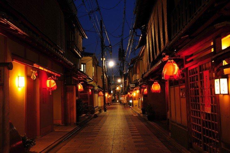 Miyagawacho 4 Distrik Geisha Yang Ada Di Kyoto