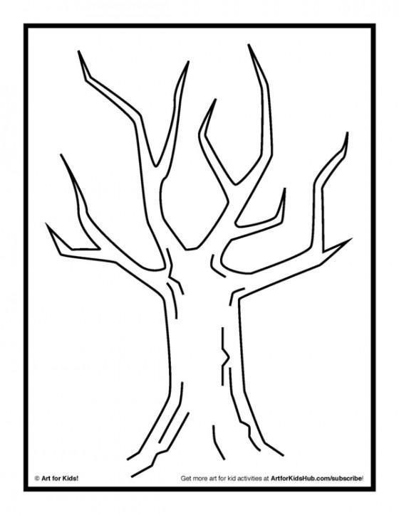 finger painting activity tree leaves art for kids