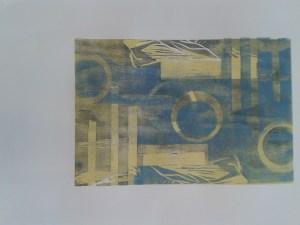 Holzschnitt Mehrfachdruck