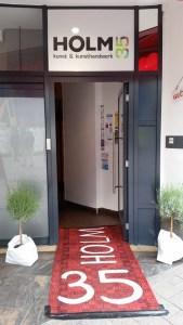 Eingang Holm 35