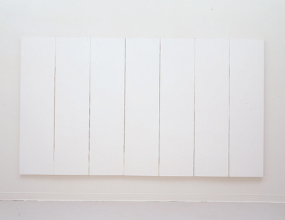 White Painting (seven panel) 1951 Robert Rauschenberg
